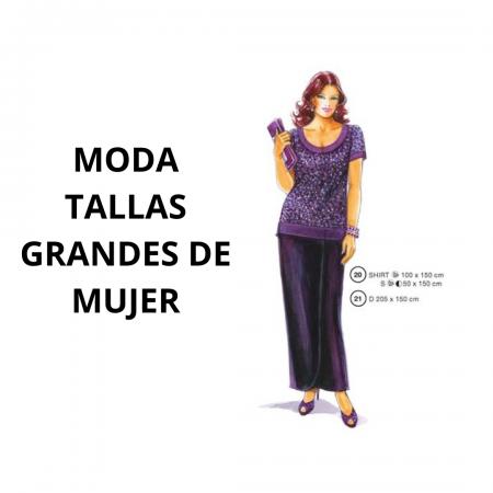 MODA TALLAS GRANDES DE MUJER